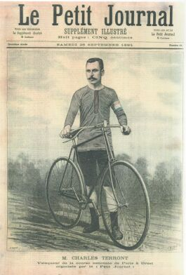 The first PBP Winner, Charles Terront, in 1891