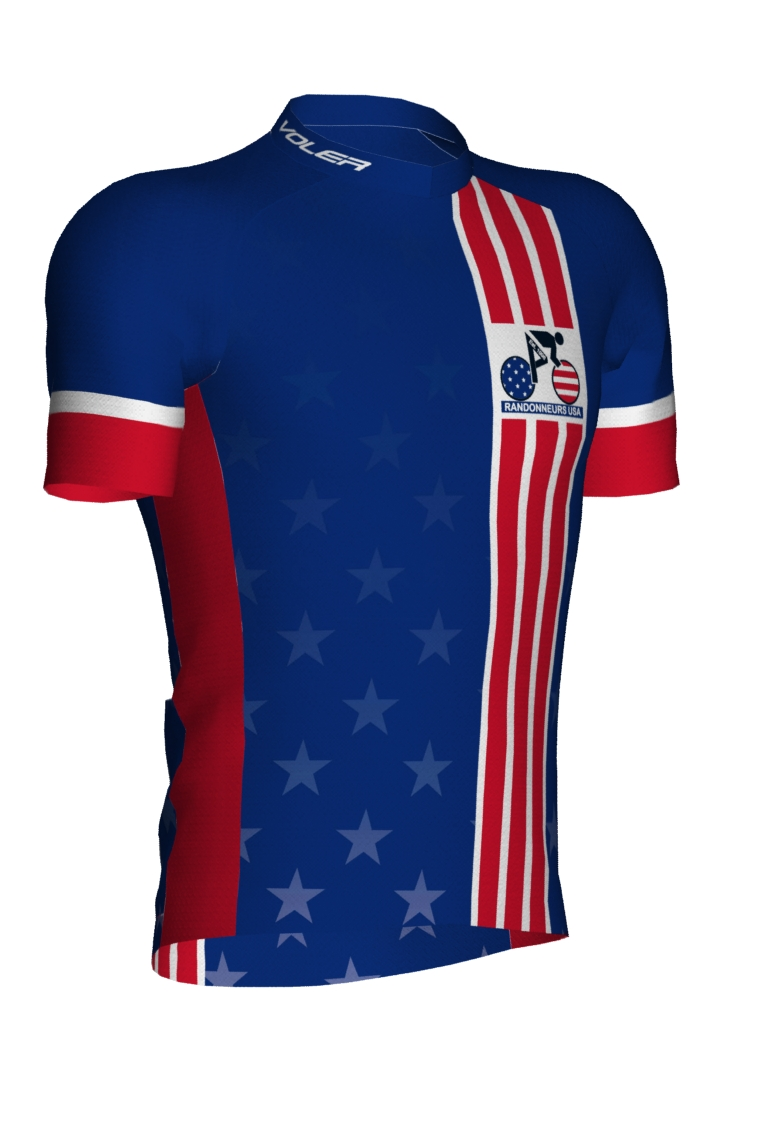 RUSA new jersey - front