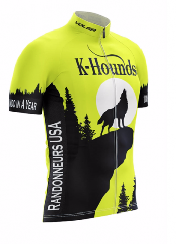 K-Hound jersey in yellow